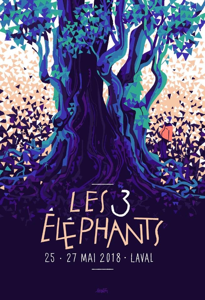les 3 elephants 2018