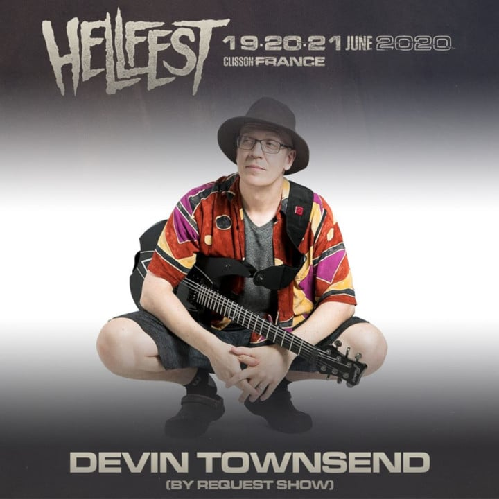 devin townsend hellfest 2020 by request show